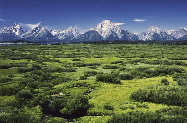 Jackson-Lake-Lodge-outlook-in-the-Grand-Teton-National-Park-Wyoming-United-States.-View-over-the-Willow-Flats-area-to-the-Teton-Range-with-the-Mount-Moran-and-his-Skillet-Glacier-12605-f